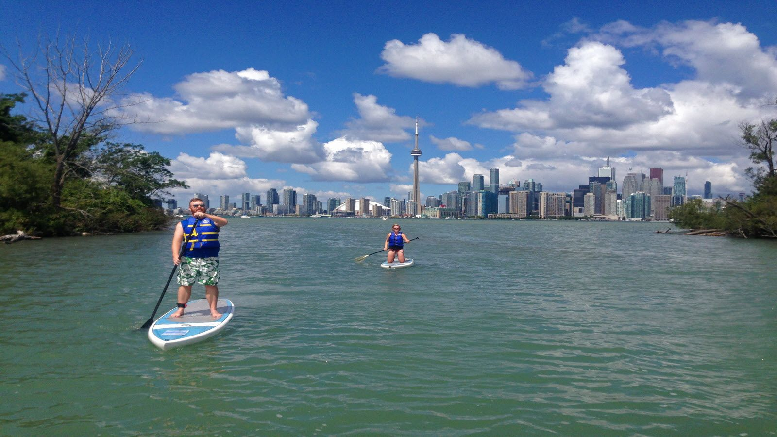 Things to do in Toronto - Toronto Island SUP