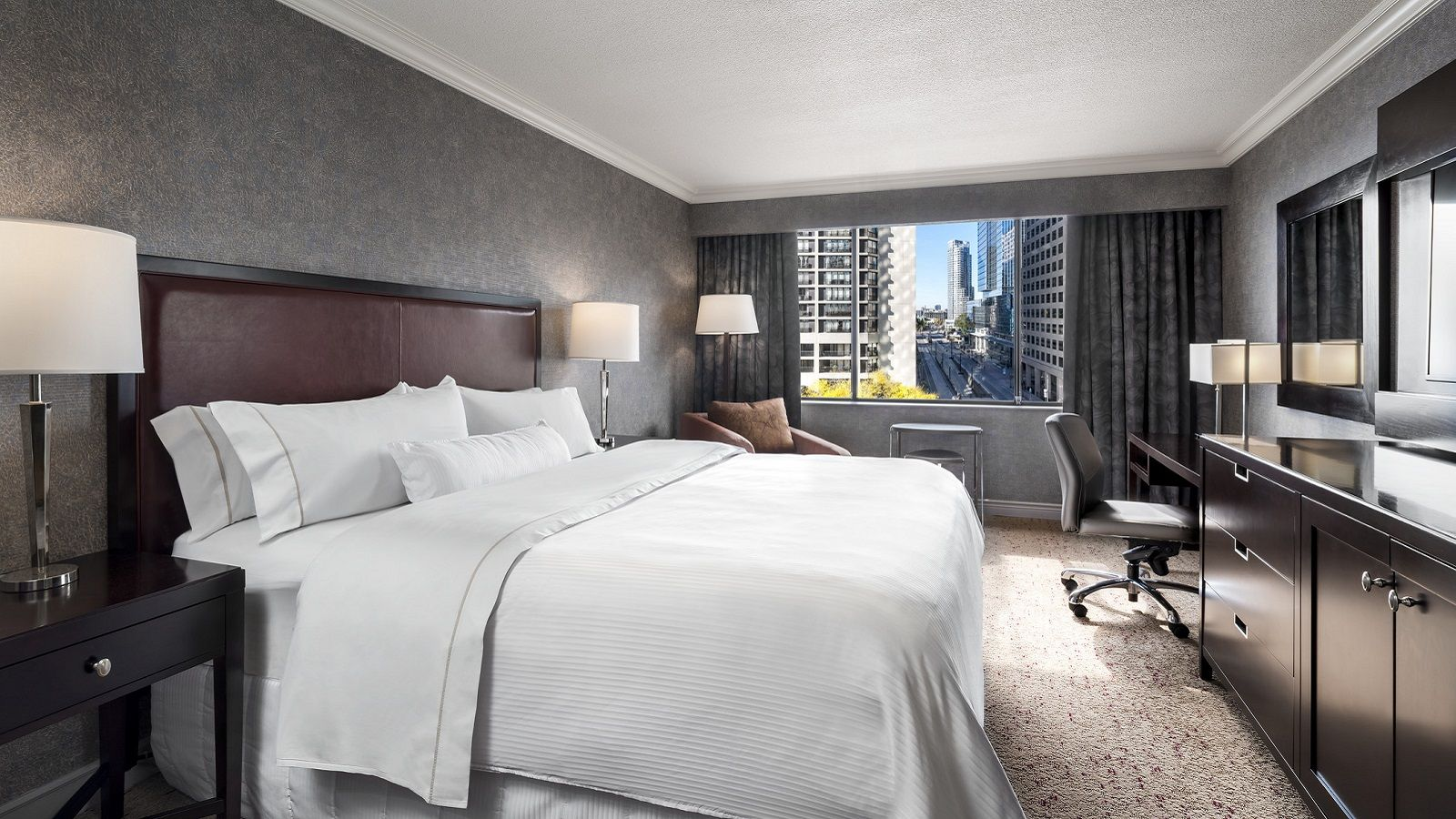 In-Room Dining at Westin Harbour Castle, Toronto